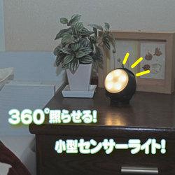 5LEDセンサーライトパラレルアイ360