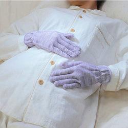 シルク混のおやすみ手袋